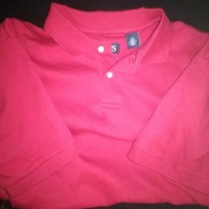 Chaps short sleeve collar for men